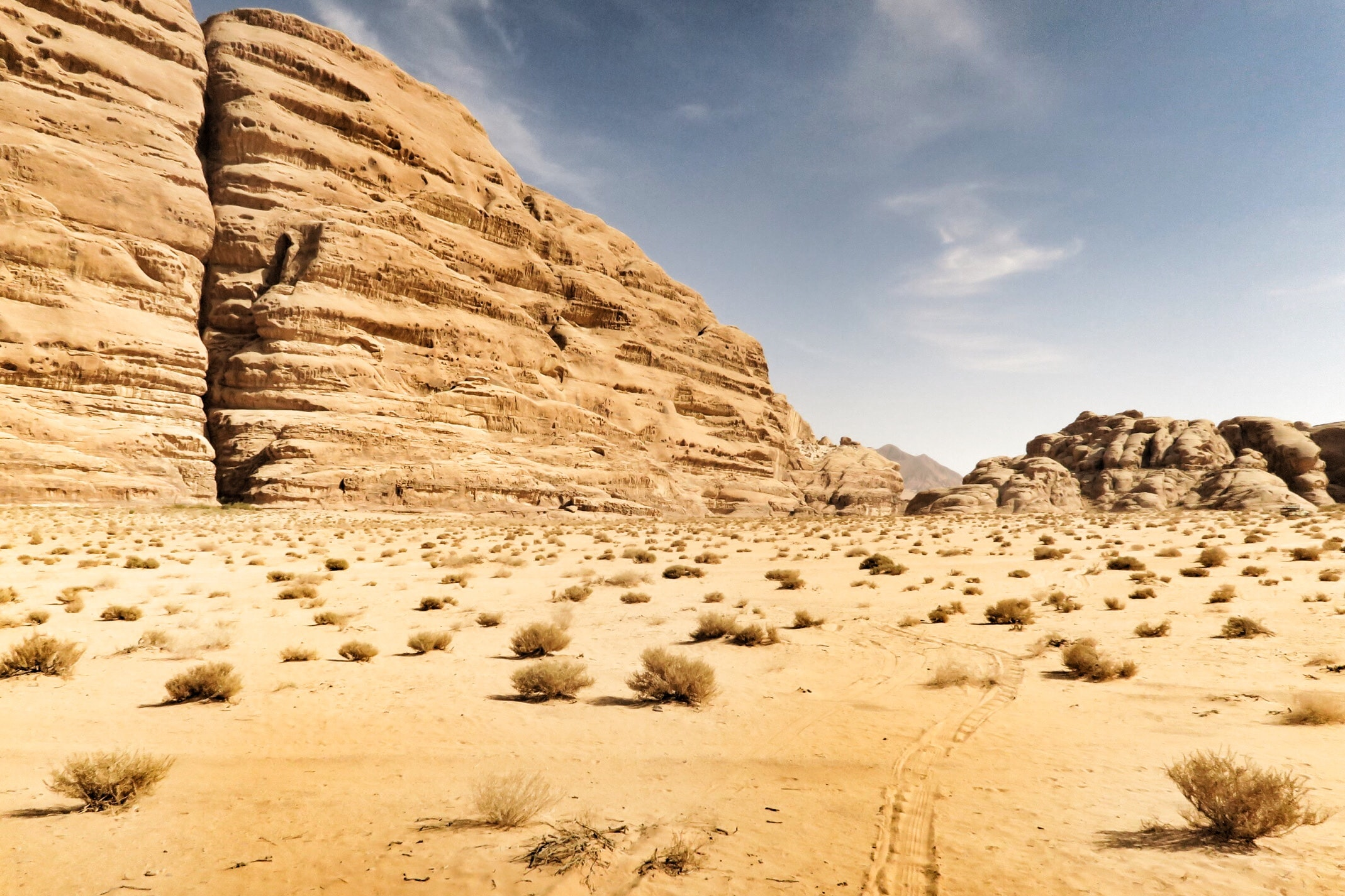 The Desert, where Cain would serve his life sentence